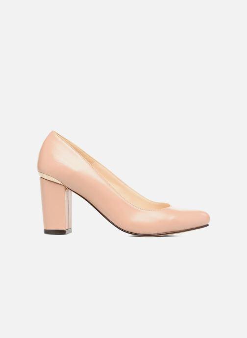 Zapatos de tacón Menbur Salso Rosa vistra trasera