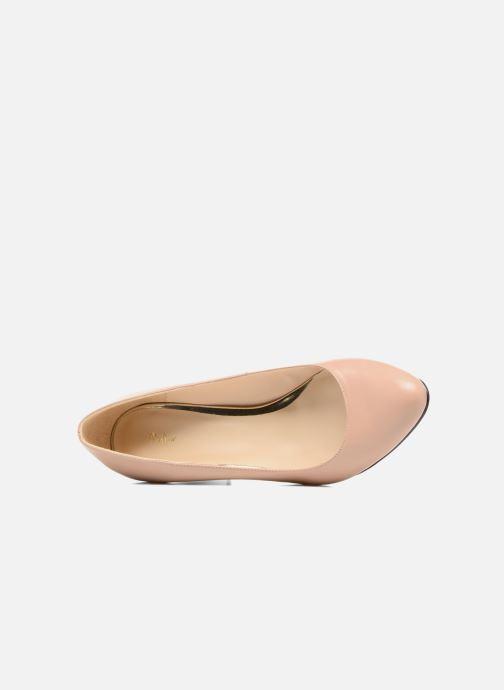 Zapatos de tacón Menbur Salso Rosa vista lateral izquierda