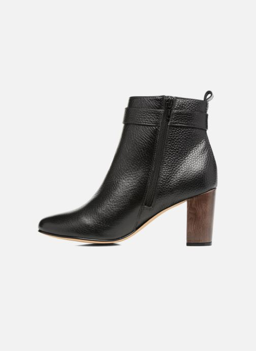 Bottines et boots Menbur Almansora Noir vue face