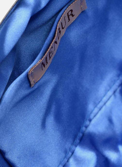 Petite Maroquinerie Menbur Paniculata Bleu vue derrière
