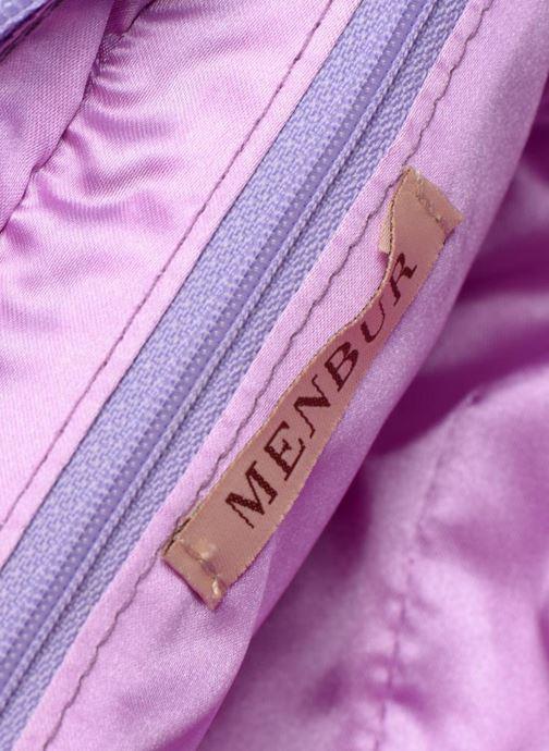 Handtassen Menbur Alberta II Paars achterkant