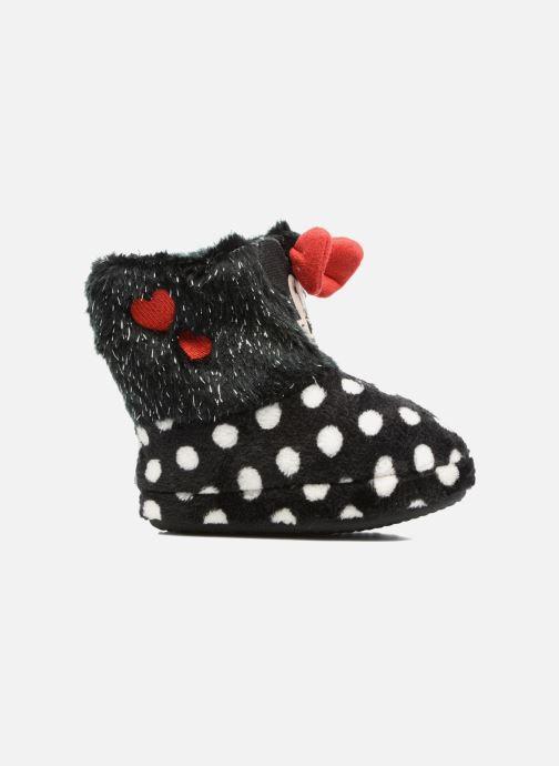 Pantoffels Minnie Spinato Zwart achterkant