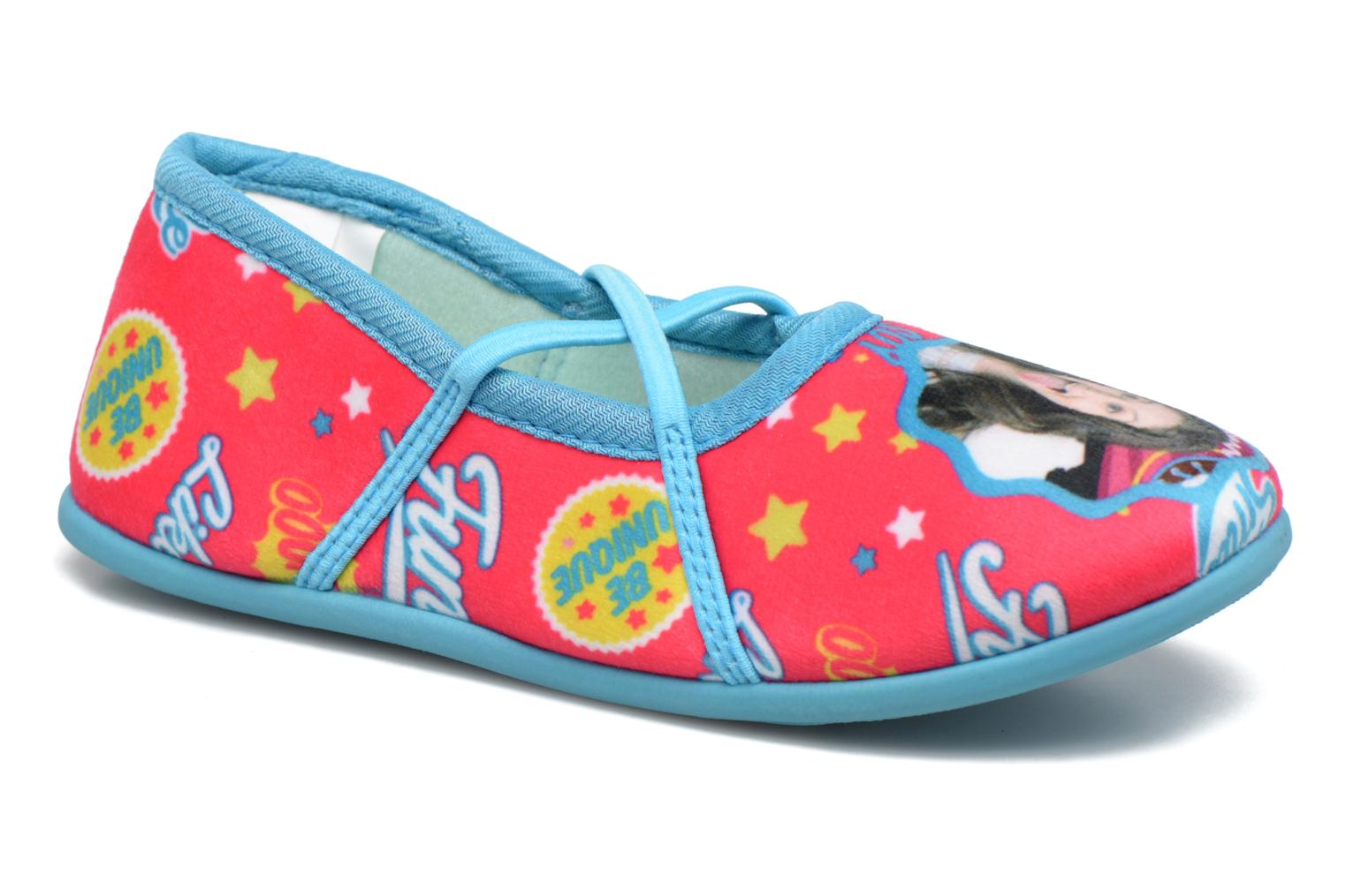 Slippers Soy Luna Sanadora Blue detailed view/ Pair view