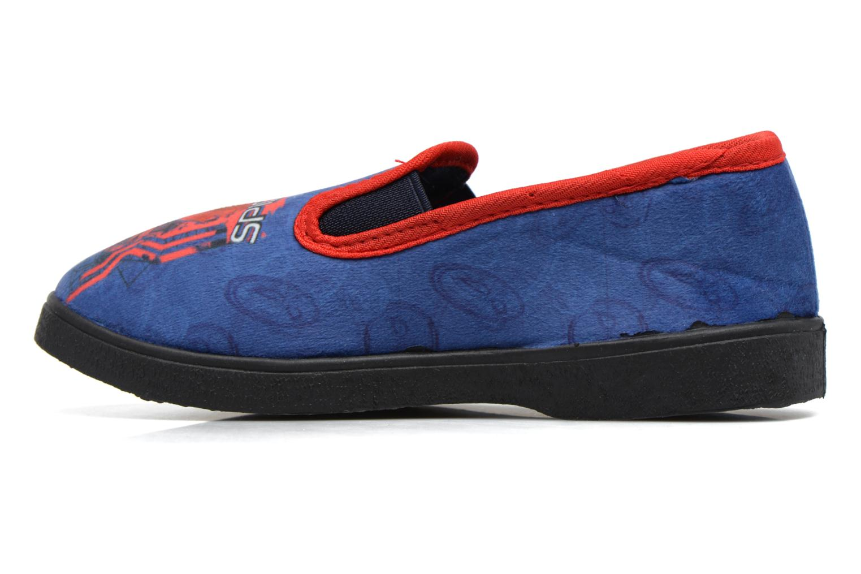 Pantuflas Spiderman Spencer Azul vista de frente