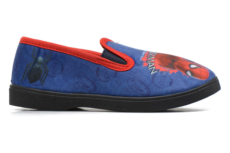 Pantuflas Spiderman Spencer Azul vistra trasera