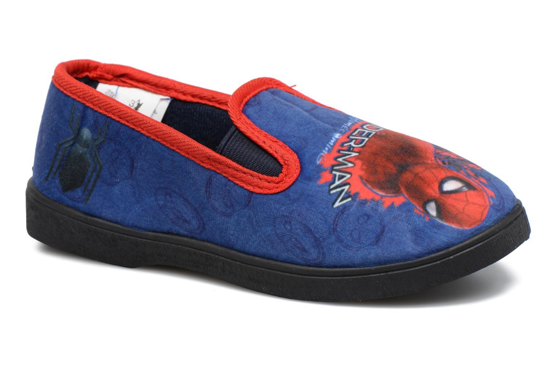 Pantuflas Spiderman Spencer Azul vista de detalle / par