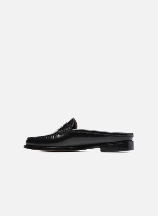 Loafers G.H. Bass Weejun WMN Penny Slide Black front view