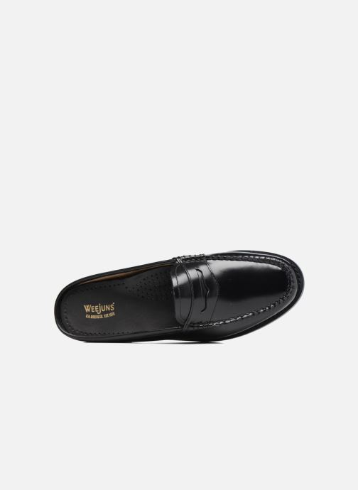 Loafers G.H. Bass Weejun WMN Penny Slide Black view from the left