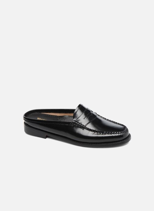 Loafers G.H. Bass Weejun WMN Penny Slide Black detailed view/ Pair view