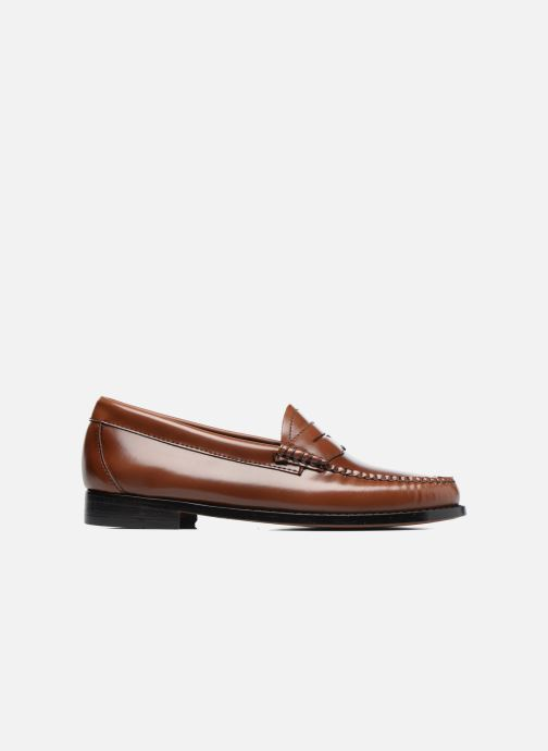 Loafers G.H. Bass Weejun WMN Penny Brown back view