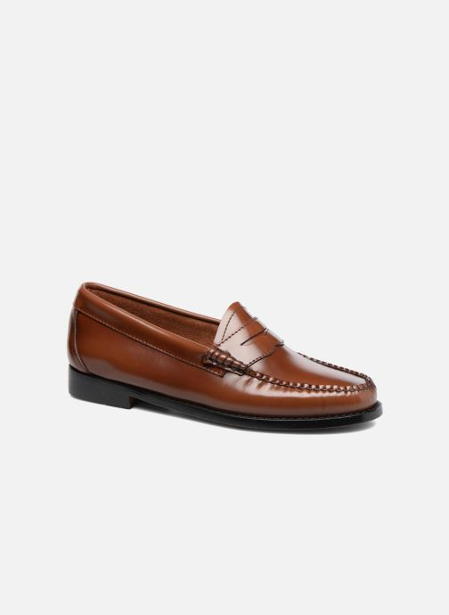 Loafers G.H. Bass Weejun WMN Penny Brown detailed view/ Pair view