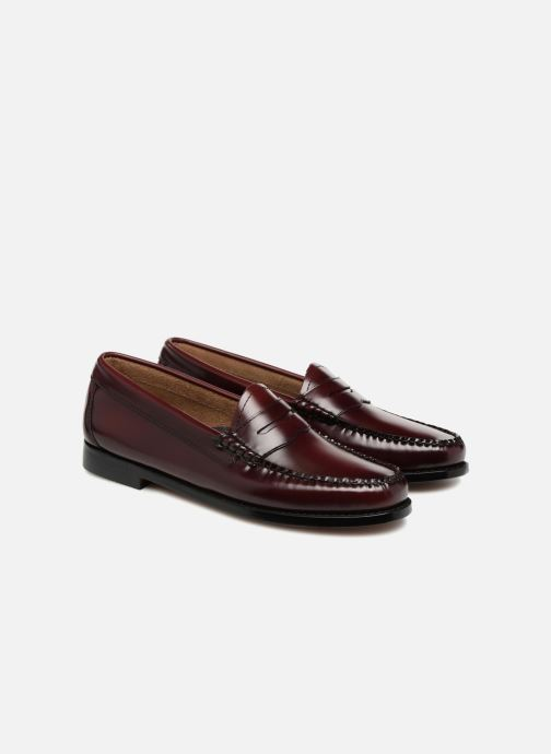 Loafers G.H. Bass Weejun WMN Penny Purple 3/4 view