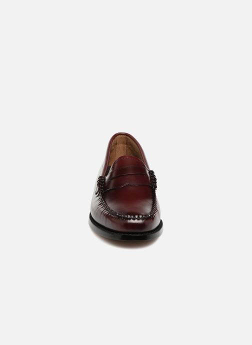 Mocassins G.H. Bass Weejun WMN Penny Violet vue portées chaussures