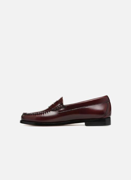 Loafers G.H. Bass Weejun WMN Penny Purple front view