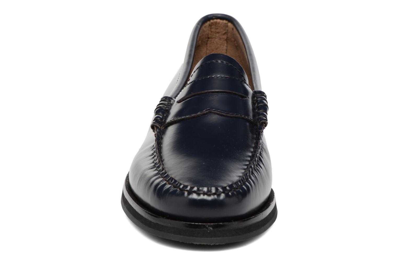Mocassins G.H. Bass Weejun WMN Penny Bleu vue portées chaussures