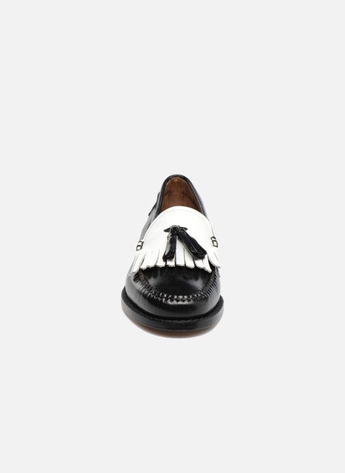 Mocassins G.H. Bass Weejun WMN Esther Kiltie Noir vue portées chaussures