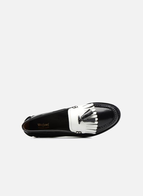 Loafers G.H. Bass Weejun WMN Esther Kiltie Black view from the left