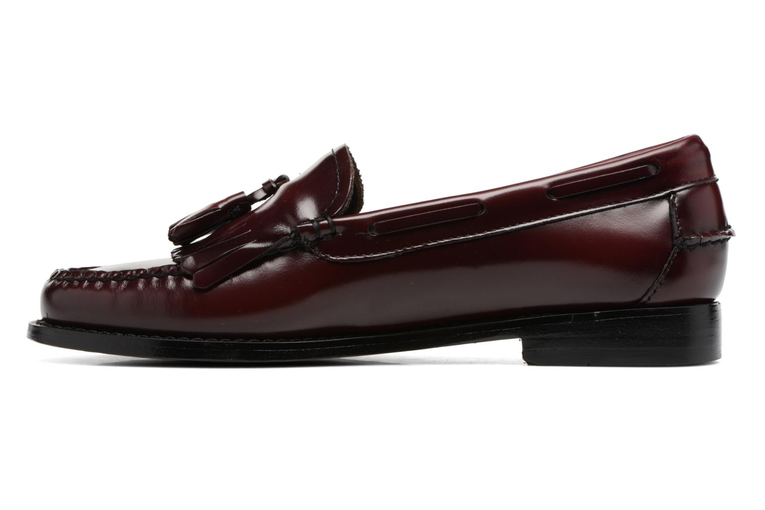 Mocassins G.H. Bass Weejun WMN Esther Kiltie Bordeaux vue face