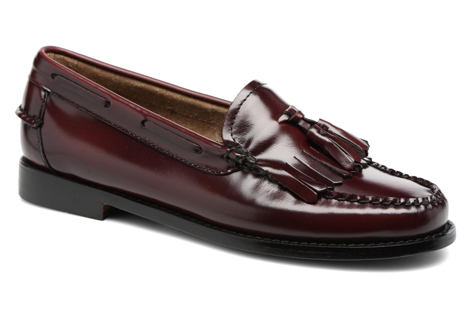 Loafers G.H. Bass Weejun WMN Esther Kiltie Burgundy detailed view/ Pair view