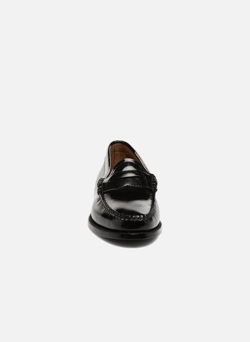 Mocassins G.H. Bass Weejun WMN Penny Wheel Noir vue portées chaussures