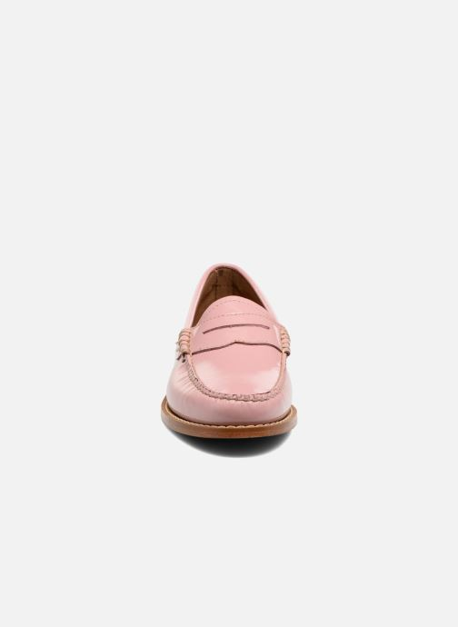 Slipper G.H. Bass Weejun WMN Penny Wheel rosa schuhe getragen