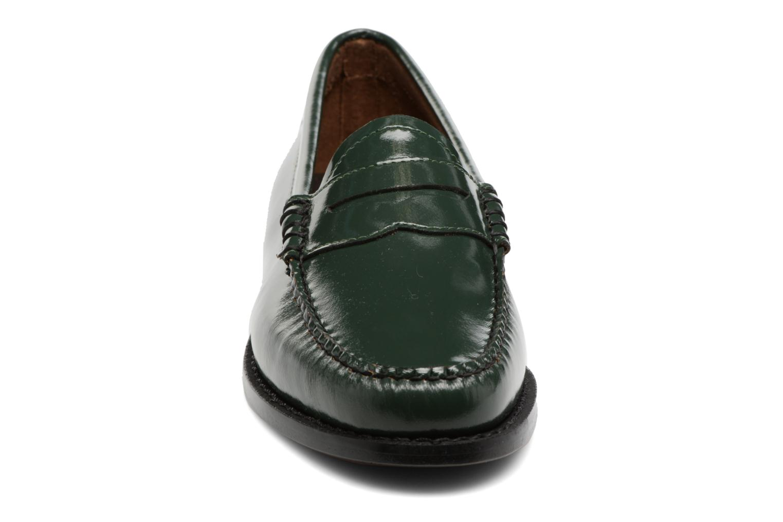 Mocassins G.H. Bass Weejun WMN Penny Wheel Vert vue portées chaussures