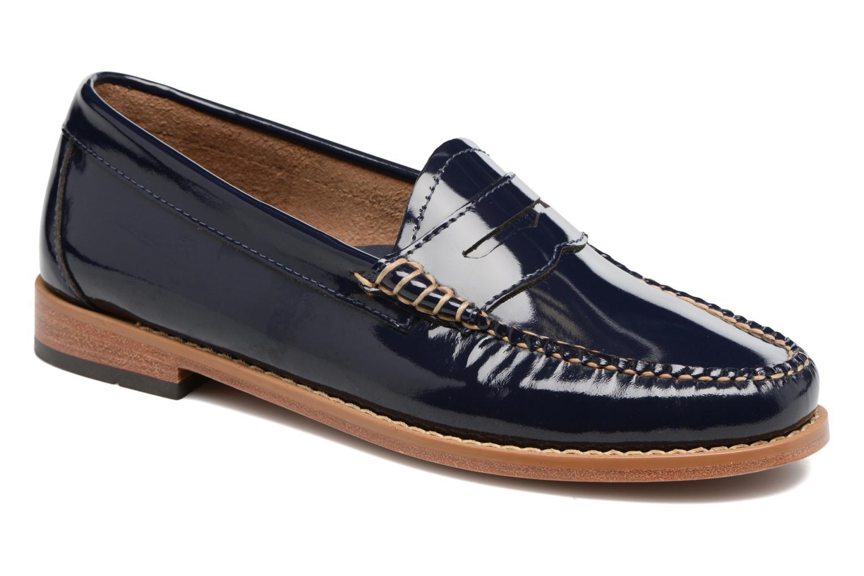 Nuevo WMN zapatos G.H. Bass Weejun WMN Nuevo Penny Wheel (Azul) - Mocasines en Más cómodo 1c0bf0