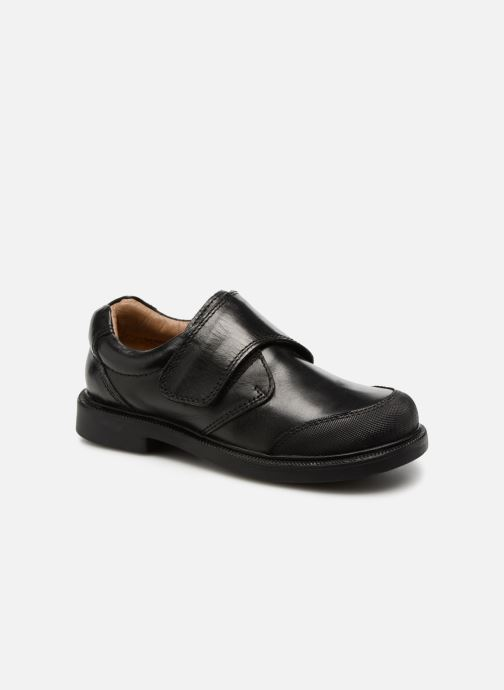 Velcro shoes Xti 54045 Black detailed view/ Pair view