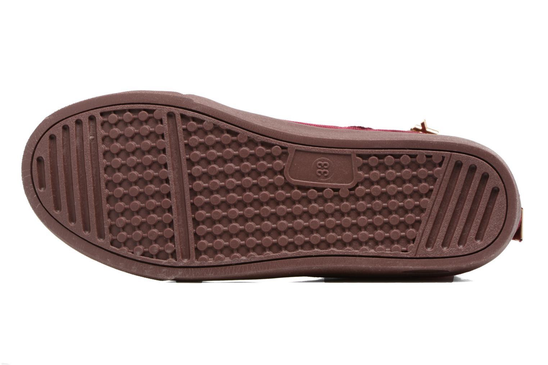 Sneaker Xti 55089 weinrot ansicht von oben