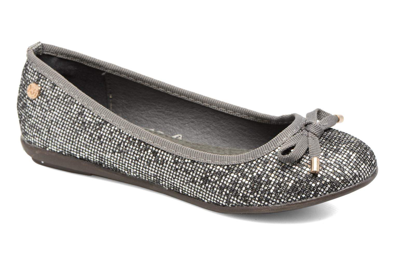 Ballet pumps Xti 55092 Silver detailed view/ Pair view