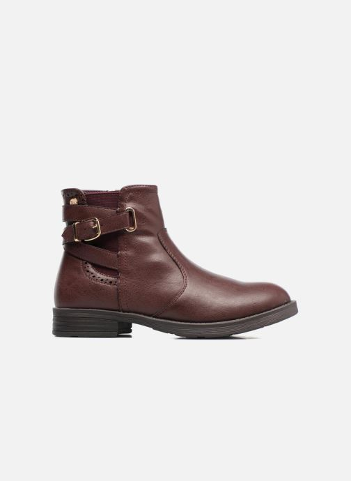 Ankle boots Xti 55106 Burgundy back view