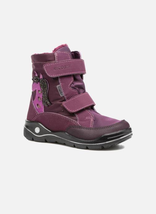 Sport shoes Ricosta Annika Purple detailed view/ Pair view