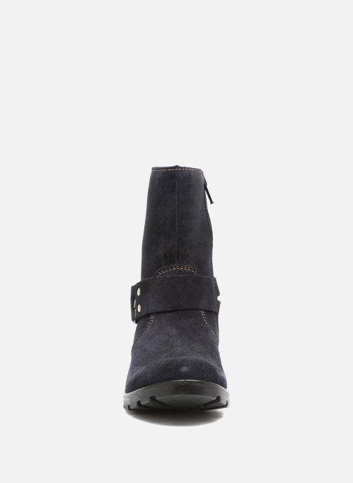 Bottes Ricosta Raffaela Bleu vue portées chaussures