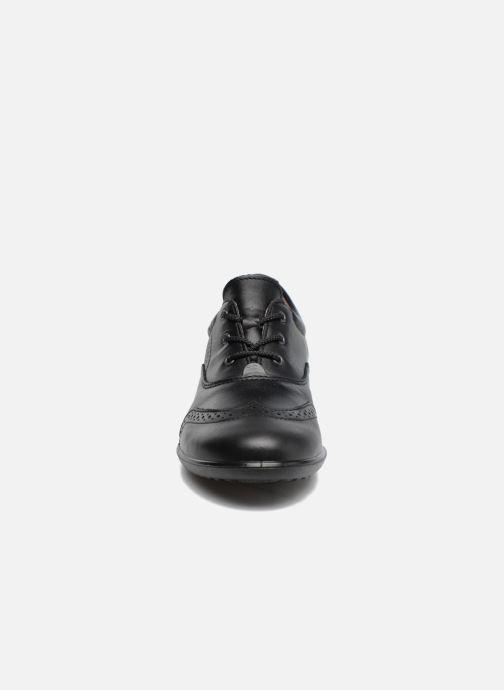 Zapatos con cordones Ricosta Kate Negro vista del modelo