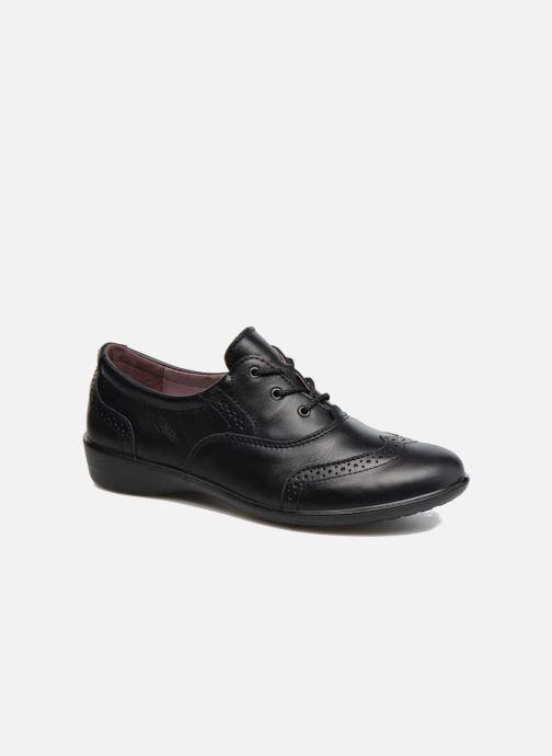 Zapatos con cordones Ricosta Kate Negro vista de detalle / par