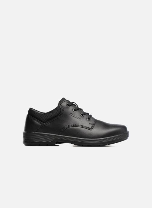 Zapatos con cordones Ricosta Harry Negro vistra trasera