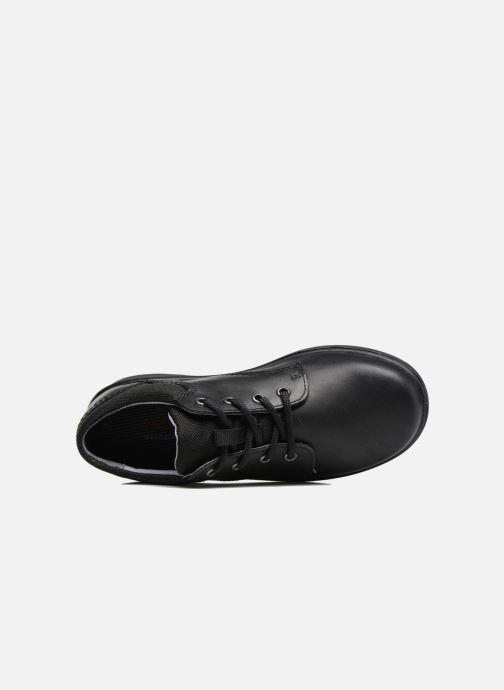 Zapatos con cordones Ricosta Harry Negro vista lateral izquierda