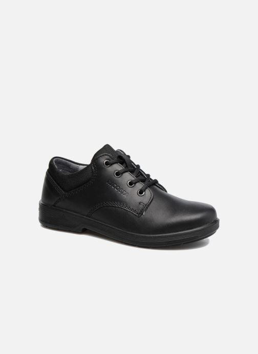 Lace-up shoes Ricosta Harry Black detailed view/ Pair view