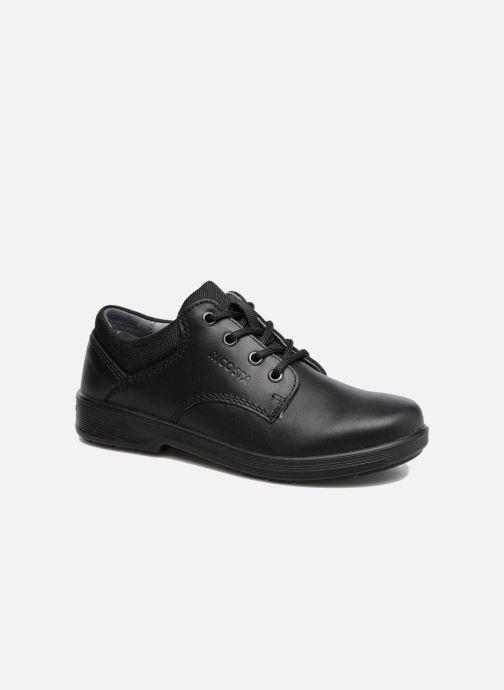 Zapatos con cordones Ricosta Harry Negro vista de detalle / par