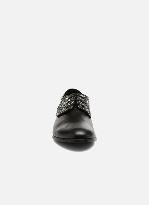 Chaussures à lacets Georgia Rose Louma Noir vue portées chaussures