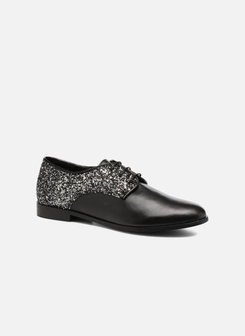 Chaussures à lacets Georgia Rose Louma Noir vue détail/paire