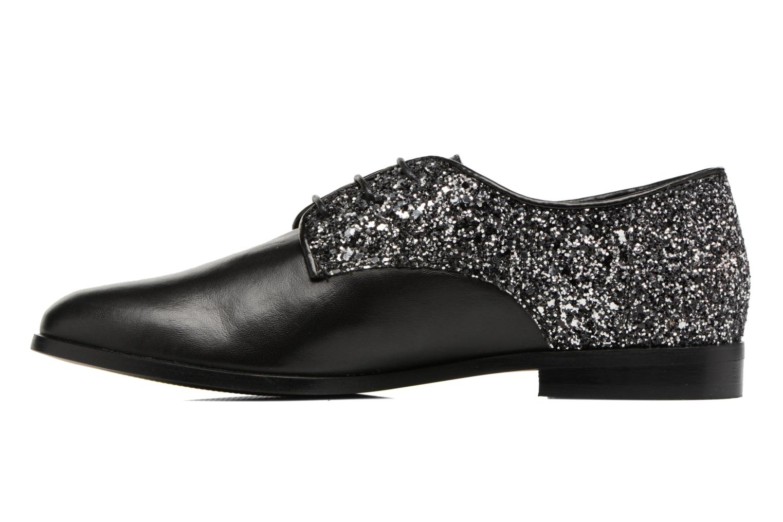 Chaussures à lacets Georgia Rose Louma Noir vue face