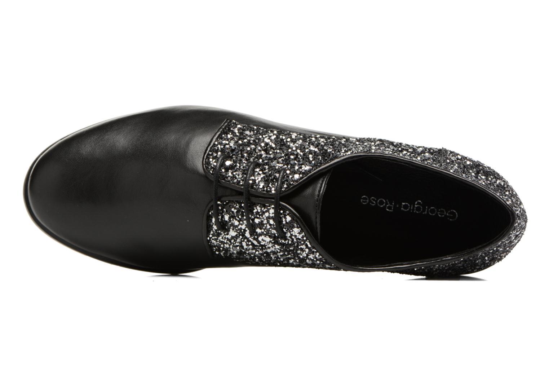 Chaussures à lacets Georgia Rose Louma Noir vue gauche