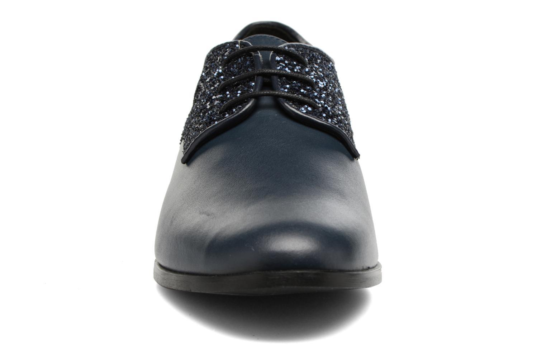 Chaussures à lacets Georgia Rose Louma Bleu vue portées chaussures