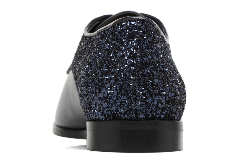 Chaussures à lacets Georgia Rose Louma Bleu vue droite