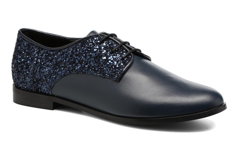 Chaussures à lacets Georgia Rose Louma Bleu vue détail/paire