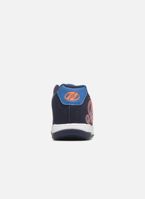 Baskets Heelys Split Bleu vue droite