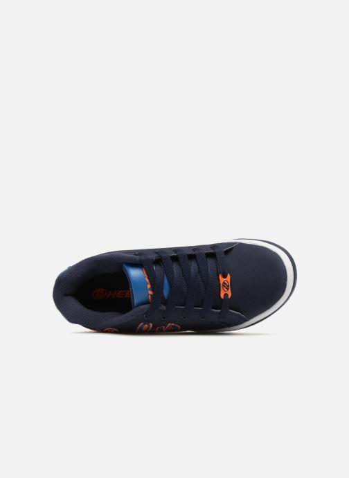 Baskets Heelys Split Bleu vue gauche