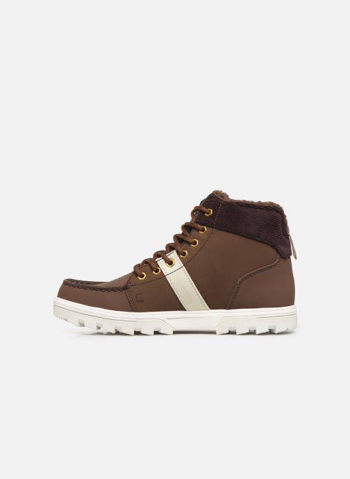 Scarpe con lacci DC Shoes Woodland Marrone immagine frontale