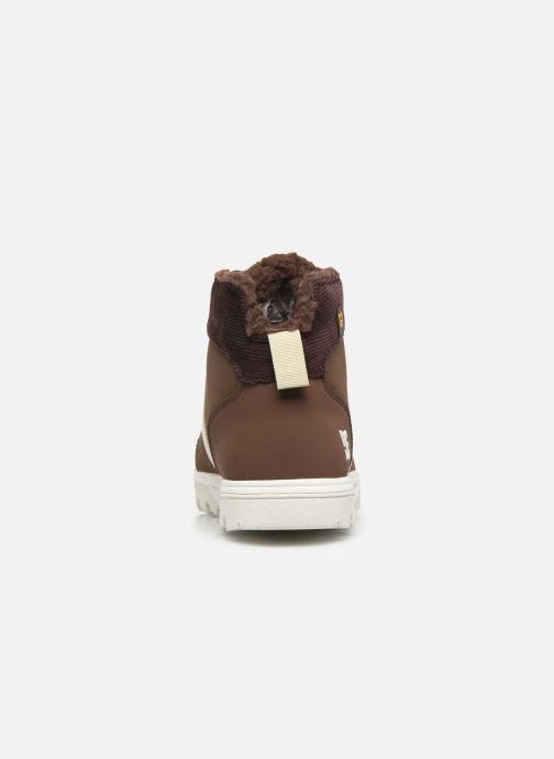 Scarpe con lacci DC Shoes Woodland Marrone immagine destra